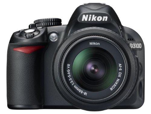Nikon D3100 SLR-Digitalkamera (14 Megapixel, Live...