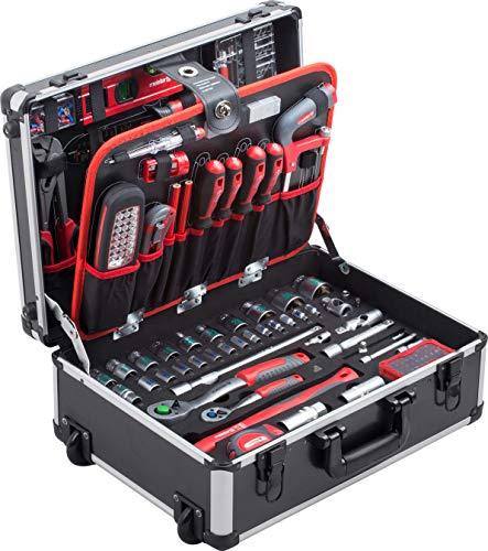 Meister Werkzeugtrolley 156-teilig - Werkzeug-Set...