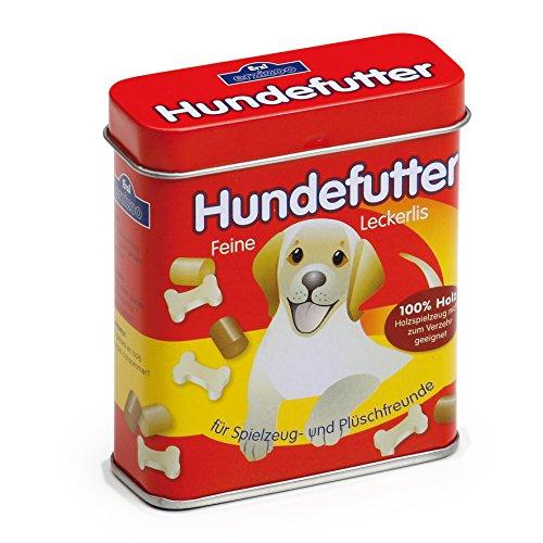 Erzi 18460 Hundefutter aus Holz in der Dose,...