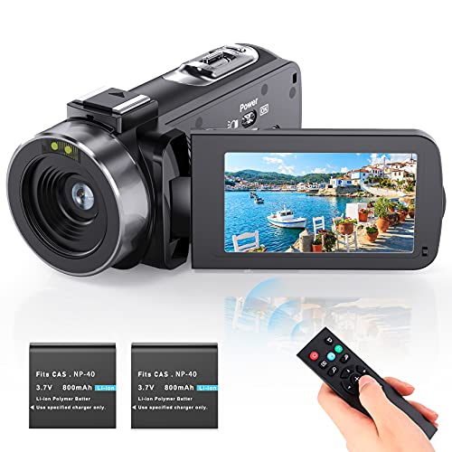 Videokamera Camcorder Vlogging Kamera YouTube...