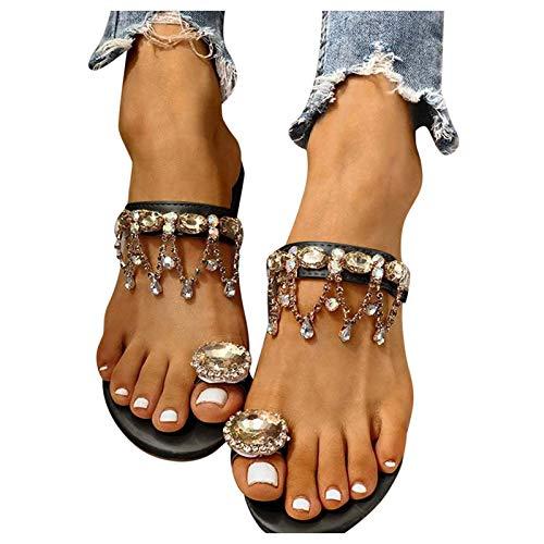 Sandalen Damen mit Absatz Dasongff Sommer Pumps...