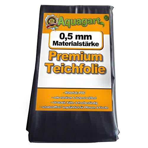 Hochwertige PVC Teichfolie 0,5mm Stärke 7m x 6m I...
