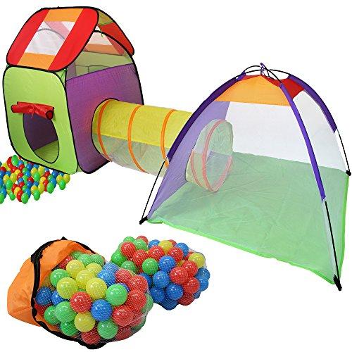 KIDUKU Kinderspielzelt Bällebad Pop Up Spielzelt...