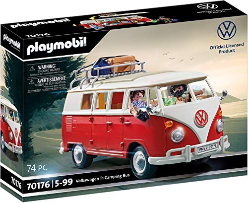 PLAYMOBIL 70176 Volkswagen T1 Camping Bus, ab 5...