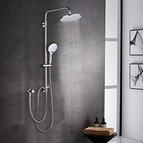 ARCORA Duschsystem ohne Armatur Regendusche Set...