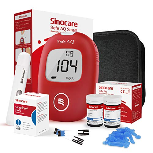sinocare Safe AQ Smart Blutzuckermessgerät,...