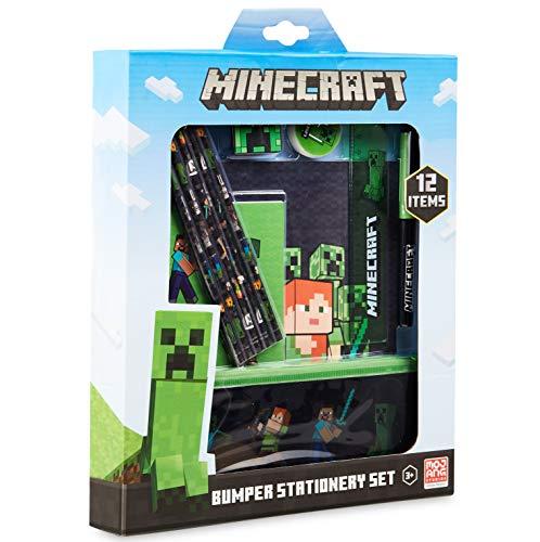 Minecraft Schulsachen, Stifte Set mit Federtasche...