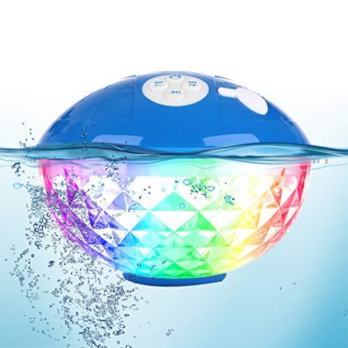 Tragbare Bluetooth Lautsprecher Farblicht,...