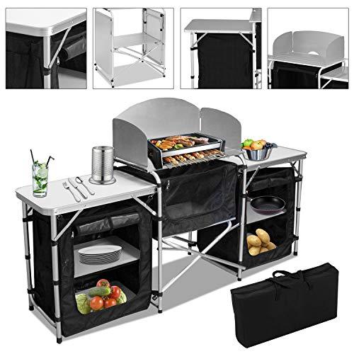 VINGO Campingküche | Campingschrank |...