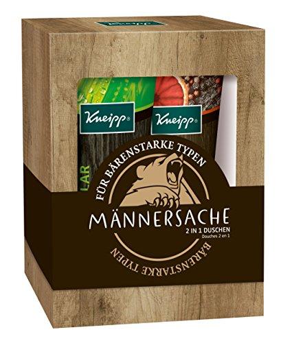 Kneipp Geschenkpackung Männersache Duschen-Set, 2...