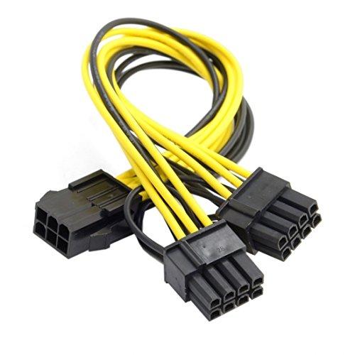 Chenyang PCI-E PCI Express ATX 6-poliger Stecker...