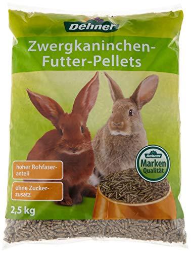 Dehner zwergkaninchen futter-Pellets, 4 x 2.5 kg...