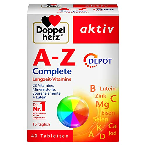 Doppelherz A-Z Complete DEPOT Langzeit-Vitamine...