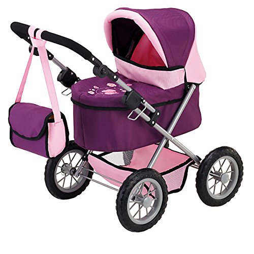 Bayer Design 13057 - Puppenwagen Trendy, pflaume