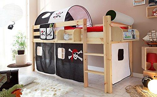 lifestyle4living Hochbett für Kinder in...