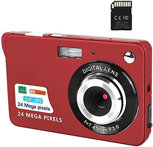 Digitalkamera, 2,4-Zoll-FHD-Taschenkameras...