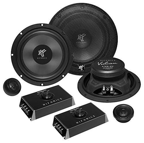 Hifonics VX-6.2C 2-Wege Einbaulautsprecher-Set 200...