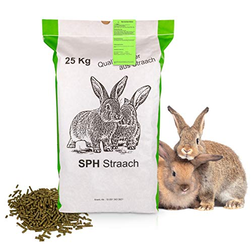 SPH Futter für Kaninchen und Nager 25kg Sack -...