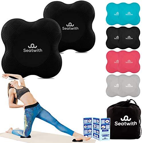 Yoga-Knie-Pad 2er Pack Kniekissen mit...
