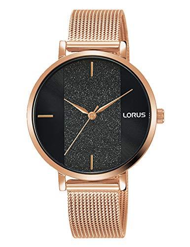 Lorus Damen Analog Quarz Uhr mit Metall Armband...
