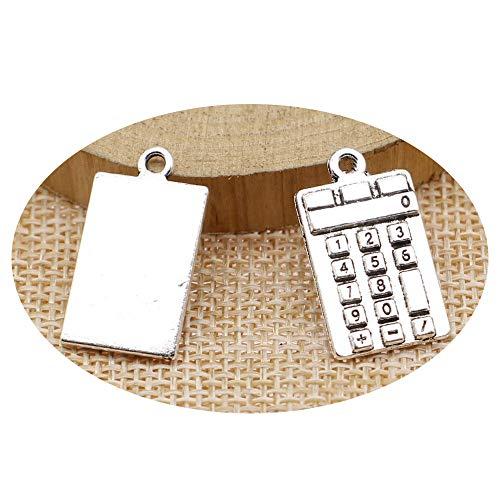 honggui 1111-15 Stück Charms Taschenrechner, 2...