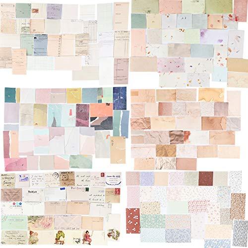 360 Blätter Scrapbooking Papier Klein Vintage...