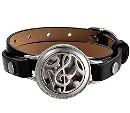 JewelryWe Unisex Aromatherapie Armband, Musik Note...