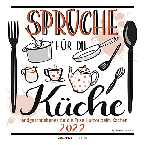 Sprüche für die Küche 2022 -...