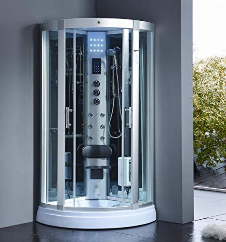 XXL Luxus LED Dampfdusche Dusche Duschtempel...