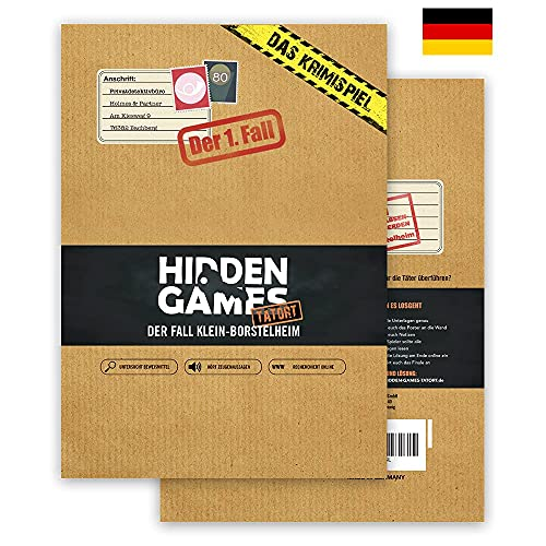 Hidden Games Tatort Krimispiel Fall 1 - Der Fall...