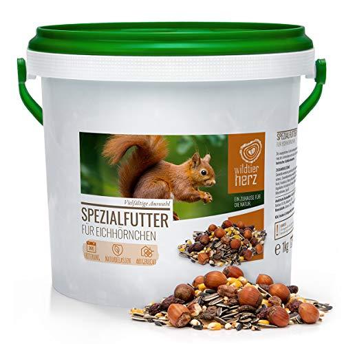 wildtier herz Artgerechtes Eichhörnchenfutter 1kg...