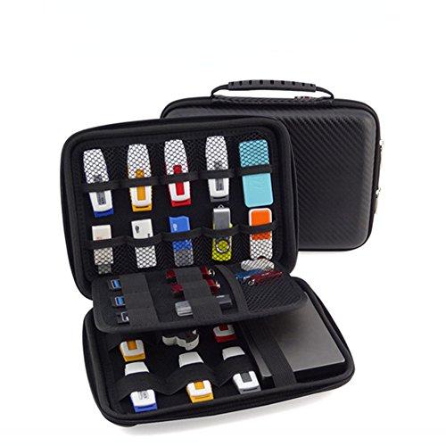 FunYoung USB-Speicherstick Organizer Aufbewahrungs...