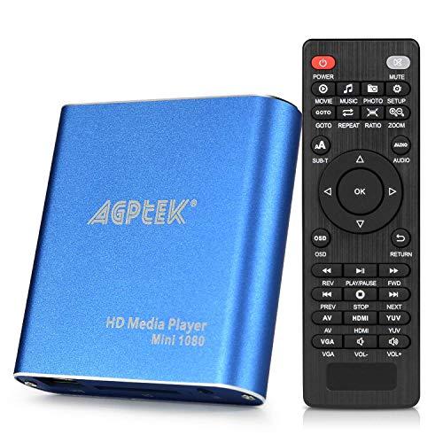 AGPTEK Mini 1080P Full HD Digital Mediaplayer...