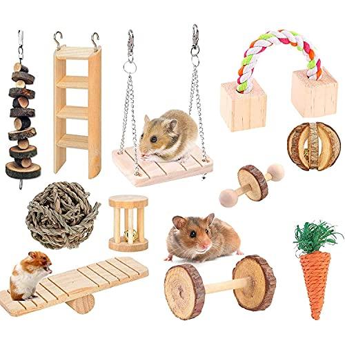 Wonninek Chew Toys Set 11 stück Naturholz...