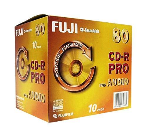 Fuji CD-R Audio PRO CD-Rohlinge 80min 700 MB 10er...