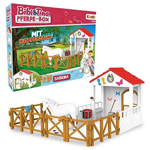 CRAZE BIBI & Tina Playset Horse Box Sabrina...