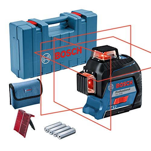 Bosch Professional Linienlaser GLL 3-80 (roter...