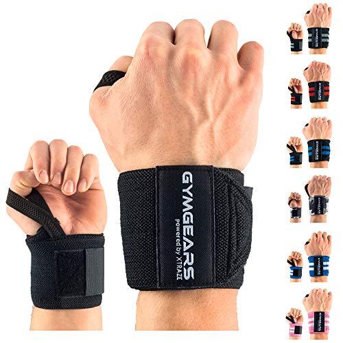 GYMGEARS Handgelenk Bandagen [2er Set] Wrist Wraps...
