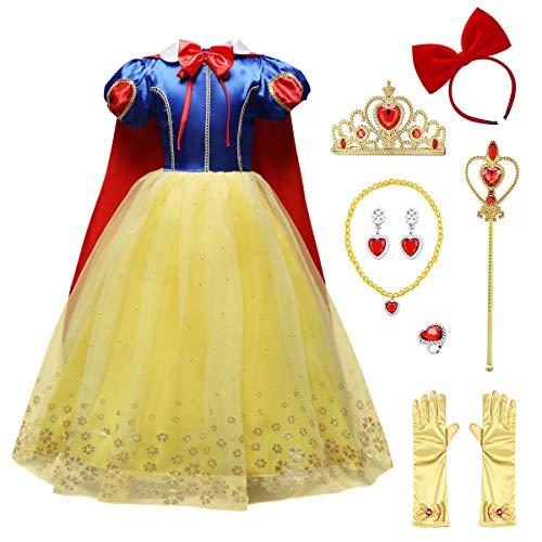 Prinzessin Schneewittchen Kostüm Kinder Mädchen...