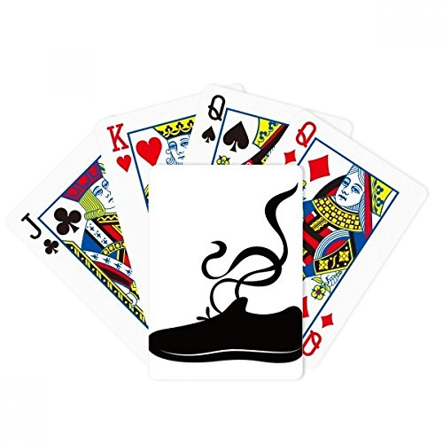 Herren Sportschuhe Schwarz Umrissmuster Poker...