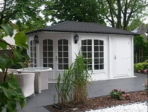 Alpholz 5-Eck Gartenhaus Modell Josephine-40 aus...