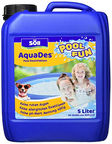 Söll 10750 AquaDes Pool-Desinfektion flüssig 5 l...