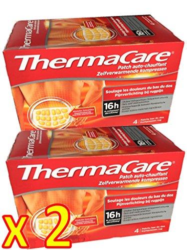 ThermaCare Rücken S-XL im 2 x Viererpack - 8...