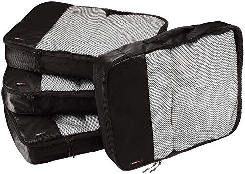 Amazon Basics Große Kleidertaschen, 4 Stück,...