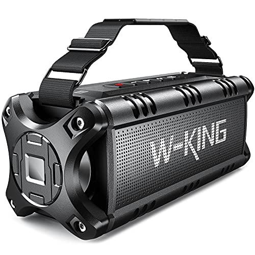 W-KING 50W Bluetooth Lautsprecher, Super Laut...