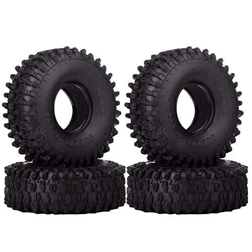 INJORA RC Reifen 4pcs 1,9inch Crawler Reifen für...
