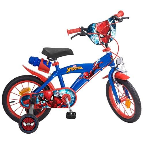 Toims 874 Spiderman Kinderfahrrad Mixed Bike...