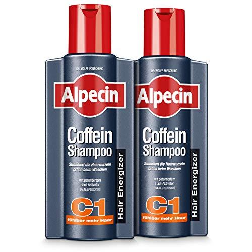 XXL Alpecin Coffein-Shampoo C1, 2 x 375ml - Gegen...