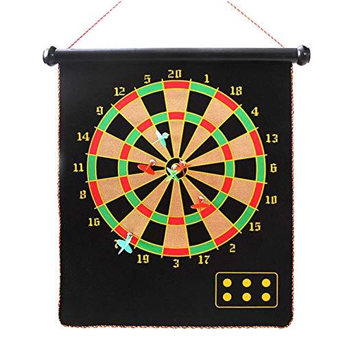 Genau Magnetische Dartbrettspiel, 6 Darts 3 Grüne...