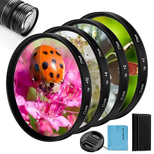 58mm Close-up Nahlinsen Filter Kit, Fotover 4...